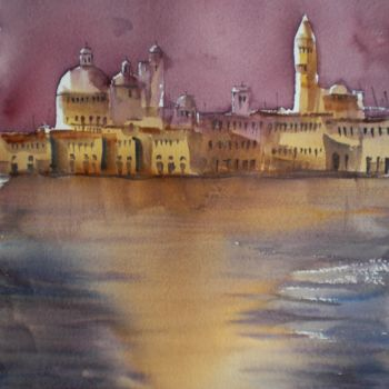 """Painting titled """"Venice 29"""" by Giorgio Gosti, Original Art, Watercolor"""