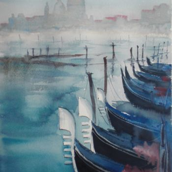 """Painting titled """"Venice 40"""" by Giorgio Gosti, Original Art, Watercolor"""