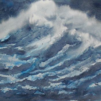 """Painting titled """"lighthouse 6"""" by Giorgio Gosti, Original Art, Watercolor"""
