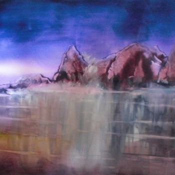 """Painting titled """"reflections"""" by Giorgio Gosti, Original Art, Watercolor"""