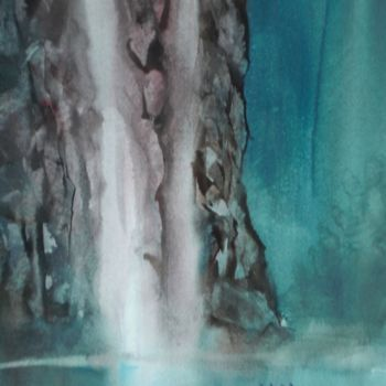 """Painting titled """"canoenig"""" by Giorgio Gosti, Original Art, Watercolor"""