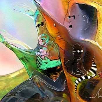 """Painting titled """"The Sweeties 04"""" by Miki De Goodaboom, Original Art, Oil"""