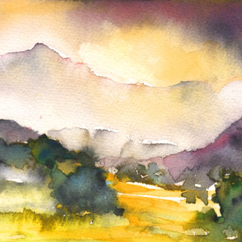 """Painting titled """"Early Morning 36"""" by Miki De Goodaboom, Original Art, Oil"""