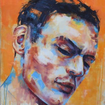 Painting, oil, figurative, artwork by Marie Granger (Mahé)
