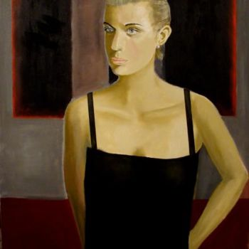 """Painting titled """"""""Katy in front of R…"""" by Reginald Gray, Original Art,"""