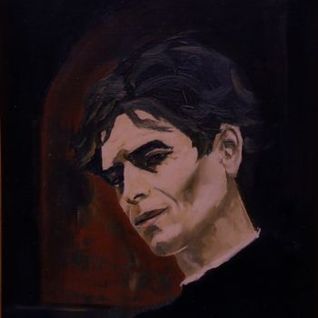 """Painting titled """"Portrait of the Fre…"""" by Reginald Gray, Original Art,"""