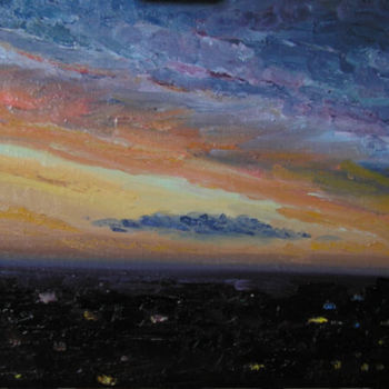 """Painting titled """"The Storm is over"""" by Irina Gvozdetskaya, Original Art, Oil"""