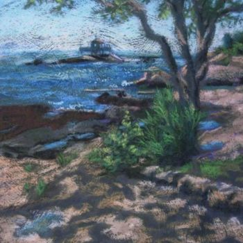 """Painting titled """"Sparkling Light and…"""" by Gloria Nilsson, Original Art, Oil"""