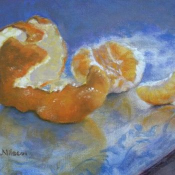 """Painting titled """"Royal Oranges"""" by Gloria Nilsson, Original Art, Oil"""