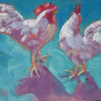 Painting, oil, artwork by Gloria Nilsson