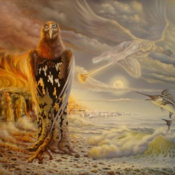 """Painting titled """"Almost the end - Pr…"""" by Gyuri Lohmuller, Original Art, Oil"""