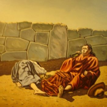 """Painting titled """"what it rests -qu'e…"""" by Gyuri Lohmuller, Original Art, Oil"""