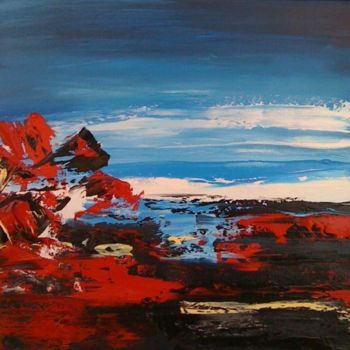 """Painting titled """"Contre nature"""" by Helene Rousselot, Original Art,"""