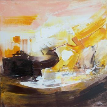 """Painting titled """"Ouragan"""" by Helene Rousselot, Original Art,"""