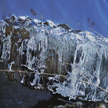 """Photography titled """"Bank Ice"""" by Igzotic, Original Art, Digital Photography"""