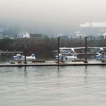 """Photography titled """"Float Plane Fleet"""" by Igzotic, Original Art, Digital Photography"""