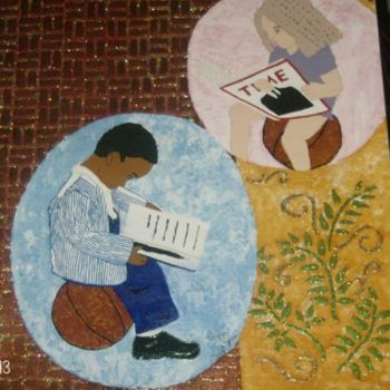 """Painting titled """"Train Up A Child/ R…"""" by Tonjua Lyles, Original Art,"""