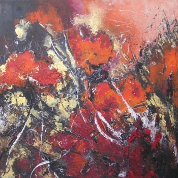 Painting, oil, abstract, artwork by Ingemalt