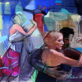 """Painting titled """"Tango"""" by Irena Luse, Original Art,"""