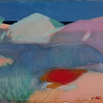 """Painting titled """"Dunes"""" by Irena Luse, Original Art,"""