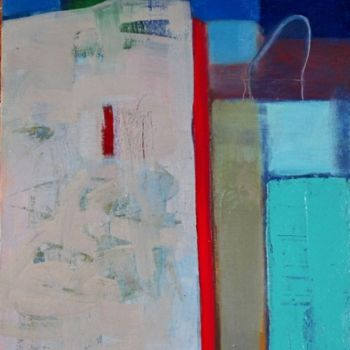 """Painting titled """"Wall"""" by Irena Luse, Original Art,"""