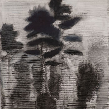 """Drawing titled """"Drawing II"""" by Irena Luse, Original Art, Graphite"""