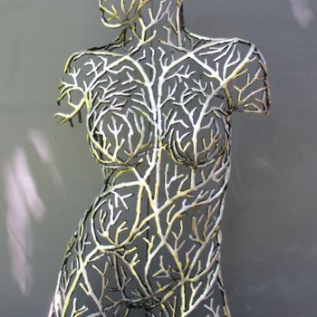 """Sculpture titled """""""" Life from the vin…"""" by Scott Wilkes, Original Art, Metals"""