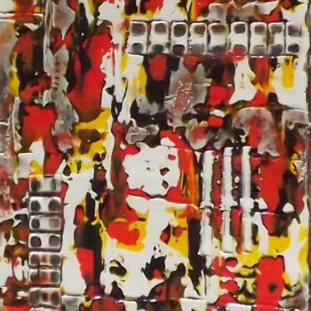 Painting, pigments, abstract, artwork by Jacqueline Morandini