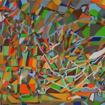 """Painting titled """"Forest Has Changed…"""" by Jakub Jerabek, Original Art, Oil"""