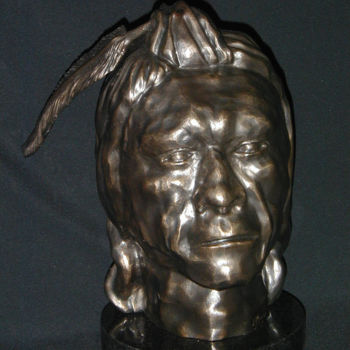 Sculpture, metals, figurative, artwork by Jan Moore