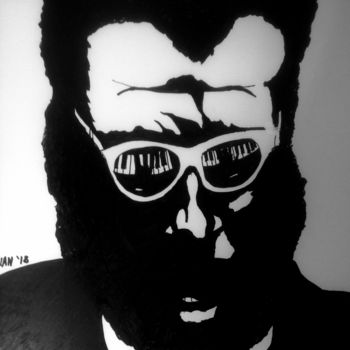 """Painting titled """"Monk 2"""" by Jan Wall, Original Art, Ink"""