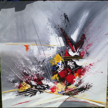 Painting, acrylic, abstract, artwork by Jean Arthur