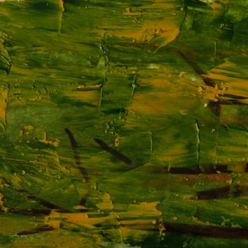 """Painting titled """"ABSTRAIT N° 7"""" by Jeannette Allary, Original Art, Oil"""