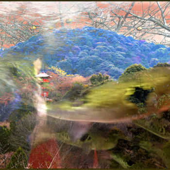 """Digital Arts titled """"The Color of Wind (…"""" by Jeff Key, Original Art, Collages"""