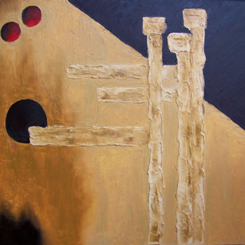 Painting, oil, abstract, artwork by Jo Moore