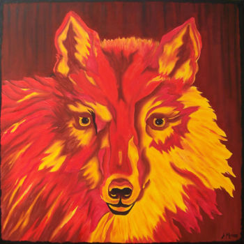 """Painting titled """"Free Spirit"""" by Jo Moore, Original Art, Oil"""