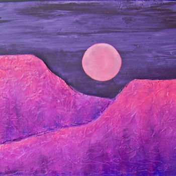 Painting, oil, expressionism, artwork by Jo Moore