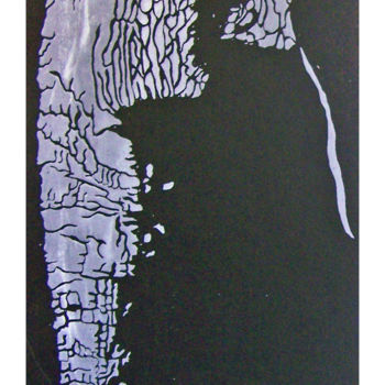 Printmaking, screenprinting, expressionism, artwork by Jo Moore