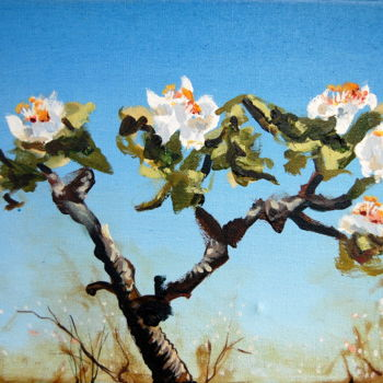 """Painting titled """"Blossom 9"""" by Jon Phillipson Brown, Original Art, Oil"""