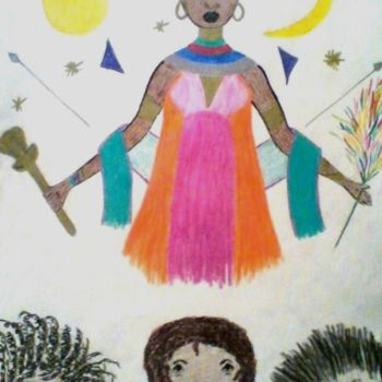 """Drawing titled """"ONCE UPON A TIME"""" by Jmsbell, Original Art,"""