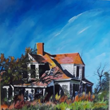 """Painting titled """"Once Upon a Time in…"""" by J S Ellington, Original Art, Acrylic"""