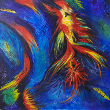 """Painting titled """"Becoming"""" by J S Ellington, Original Art, Acrylic"""