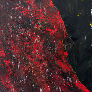 """Painting titled """"Red Shadow III: Wis…"""" by Mihail Ivanov, Original Art, Oil"""
