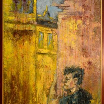 """Painting titled """"A Caccia D'Ardore"""" by Mihail Ivanov, Original Art, Oil"""