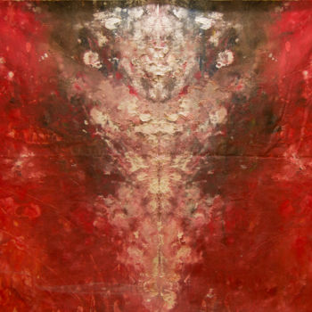 """Painting titled """"Inferno"""" by Mihail Ivanov, Original Art,"""