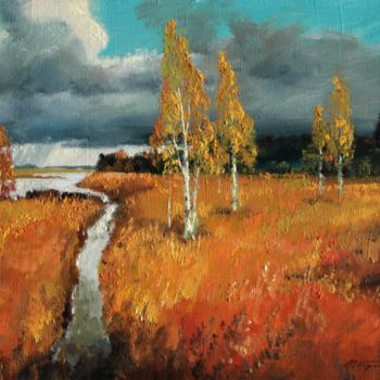 """Painting titled """"After the Storm"""" by Mark Kremer, Original Art,"""