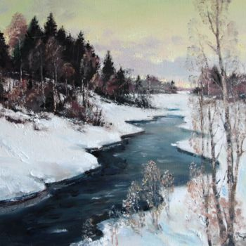 """Painting titled """"Early Spring. The r…"""" by Mark Kremer, Original Art,"""