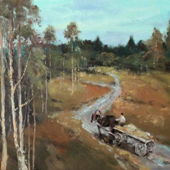"""Painting titled """"Autumn evening in R…"""" by Mark Kremer, Original Art,"""