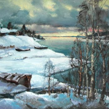 """Painting titled """"Sulky day"""" by Mark Kremer, Original Art, Other"""