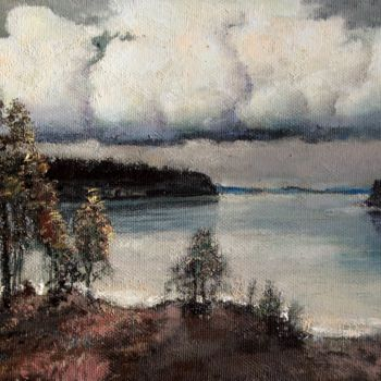 """Painting titled """"Before the storm"""" by Mark Kremer, Original Art, Oil"""